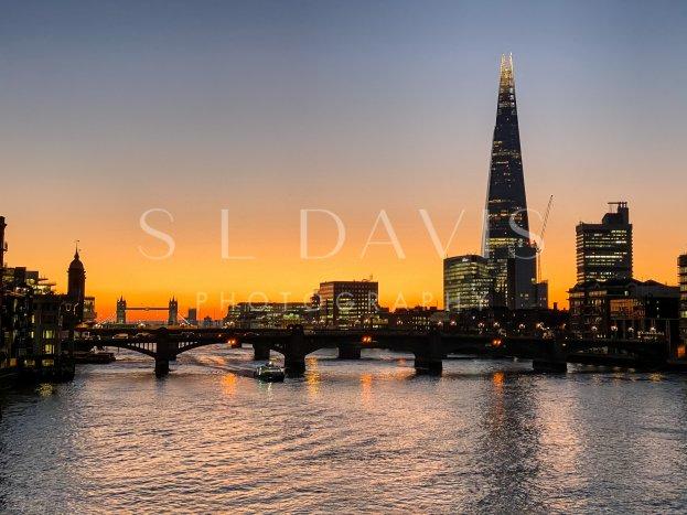 City Sunrise Horizon - S L Davis Photography